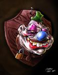 stuffed clown by henriquelima