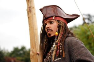 Capt Jack Sparrow on a ship by CaptJackSparrow123