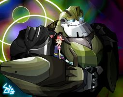 TFP: Miko and Bulkhead by SoyaC