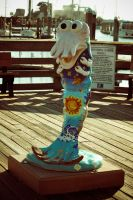 Cute little shrimp statue by ahley