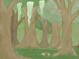 Forest - color by Lyingsmile15