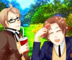 Aph: Gakuen summer (small animation) by MicoSol