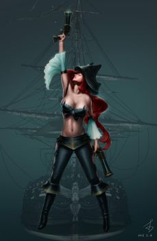 Miss Fortune by lizimingkl