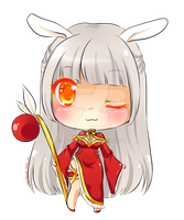 Chibi Chinese Bunny Adoptable by Desiree-U