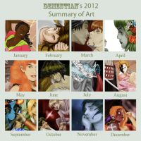 2012 Art Summary by Jizoku-San