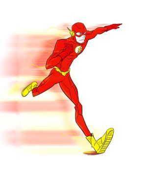 The Flash (Speed force effect) by Mbembe