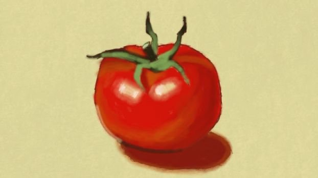 Tomato by ChibiCelloKing