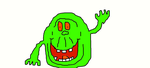 Slimer by Simpsonsfanatic33