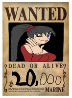Bishodas Wanted Poster one piece style by animebaka94