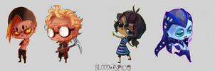 Council Chibies 2 by BloodnSpice