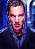 Benedict Cumberbatch by Pondd