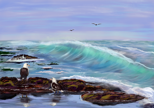 Seascape Imagination4 after project comment by shmuckwolf