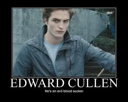 Edward Cullen poster by firesword7