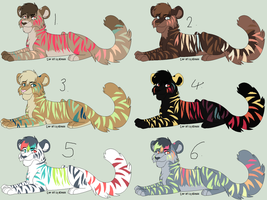 Tiger Adopts - Name Your Price - 1 LEFT!! by chaosangel1111