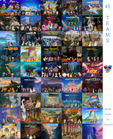 Sonic and Disney Heroes - All 45 teams by bvge