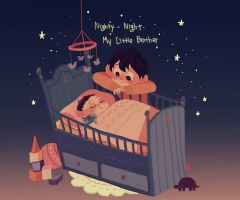 Little Wirt and baby Greg by imamong