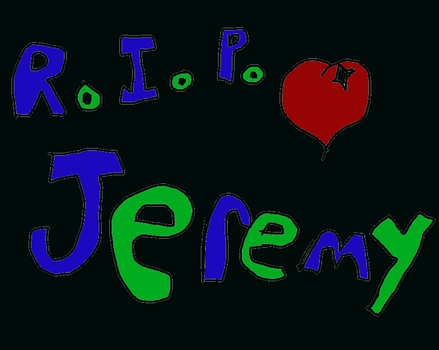 rest in peace Jeremy brown by huggles111702
