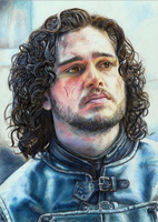 Jon Snow by Pevansy