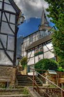 Kirchtreppe by filth666