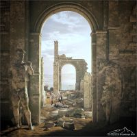 Ode To Carel Willink part 4 - Stripeless by 3DLandscapeArtist