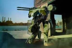 Rex at Brooklyn harbor by ProVoltageCosplay