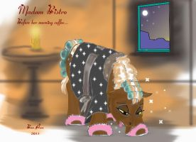 MLP OC Madam Bistro in the morning by Boss-Hoss1