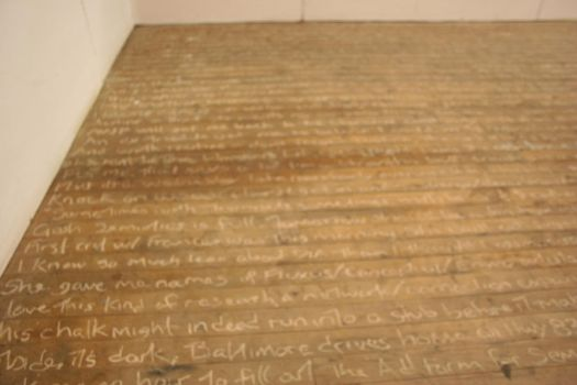 Floor Poem by steelwench