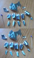 Midna papercraft hands assembly by minidelirium