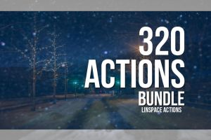 (75% OFF) 320 Actions Bundle by linspace
