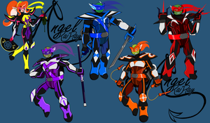 Tmnt Space Cyber Armor V2 by AngelRaiRay