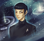 Spock by MissFuturama