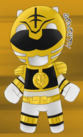 White Ranger Chibi by GoNorth
