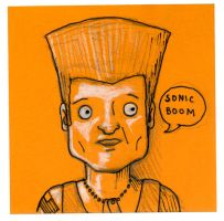 Post-It Guile by DoomCMYK