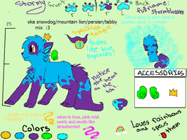 ultimate feral stormy ref. by Thundercatzgirl