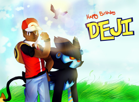 Happy B-Day Deji by LilRedGummie