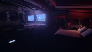 Night In Shepard's Cabin by Rastifan