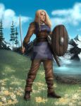 Shieldmaiden Commission By Destinyfall by DLMayo