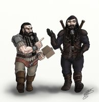 West Marches - Ironheart Brothers by SteveNoble197