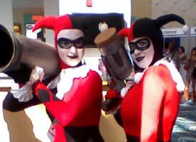 Me at COMIC CON by ClownGirlHarley