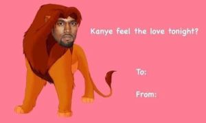 Celebrity-tumblr-valentine-card-kanye-feel by petalkitten