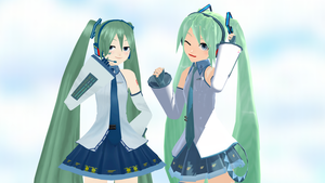 .: Two Fake ISAO Mikus :. by Duekko