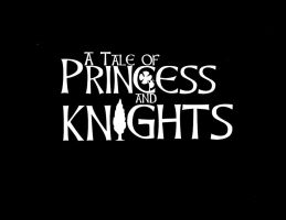 A tale of princesses and Knights Oficial logo by piojote