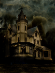haunted house by magicsart