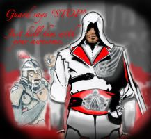 Ezio the Awesome by SinfulFreedom
