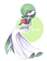Gardevoir by MagicalZombie
