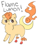 Flame Lunen Adopt [OTA-CLOSED] by pinalapple