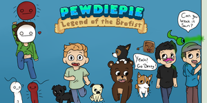 Legend of the Brofist by PaperPlushie