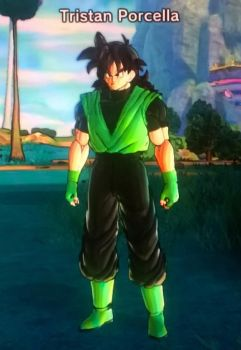 My Dragon Ball Xenoverse 2 OC 4 by tristananimation