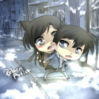 Chibi commission : Case Closed by Shumijin