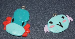 Water type charms by TwitchyTail